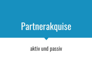 Aktive und Passive Partner Akqusive – Vortrag Affiliate Conference